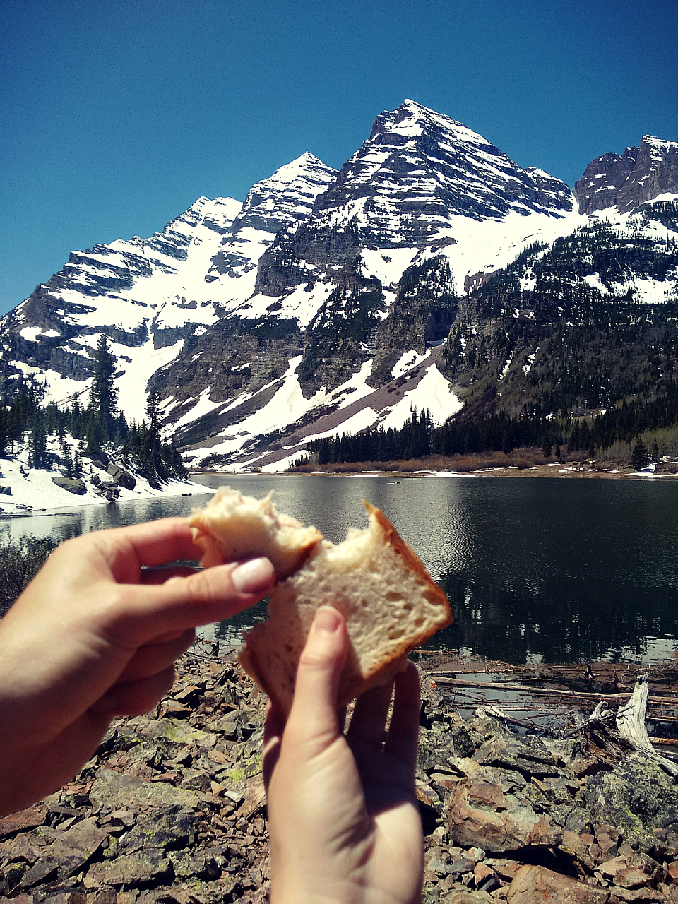 Crater Lake turkey sandwiches