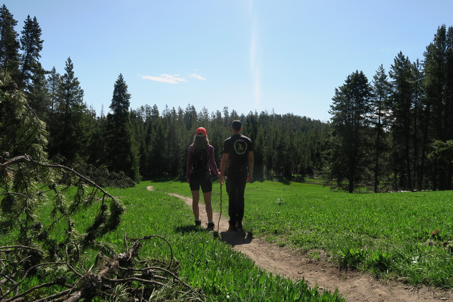 Clear Lake, Wapiti Trail, Yellowstone