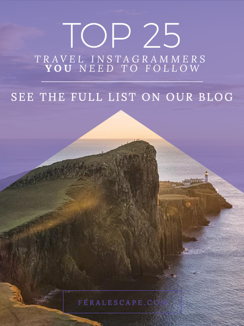 top travel instagrammers