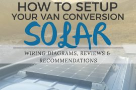 sprinter van conversion solar setup guide and wiring diagram for pinterest