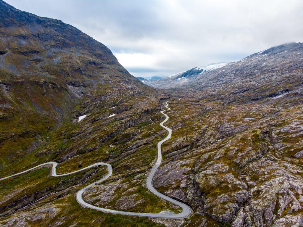 winding road in Norway