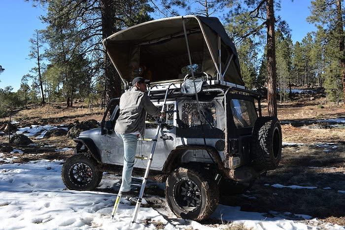 raptor series jeep roof top tent